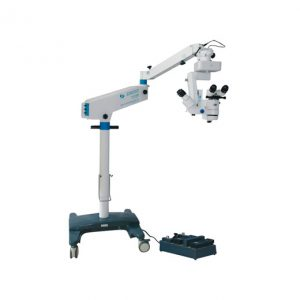 Операционный микроскоп SOM2000D с микроскопом ассистента X/Y перемещением, электронным управлением увеличения (оптика Carl Zeiss)