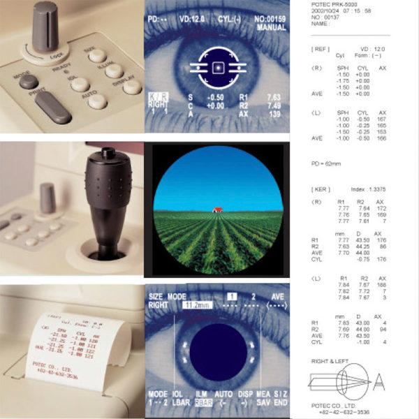 Авторефкератометр Potec PRK-5000 - 4