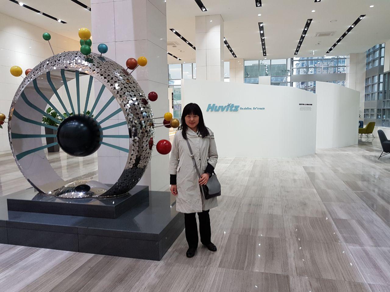 Посещение нового офиса компании HUVITZ KOREA DONGAN-GU - 14