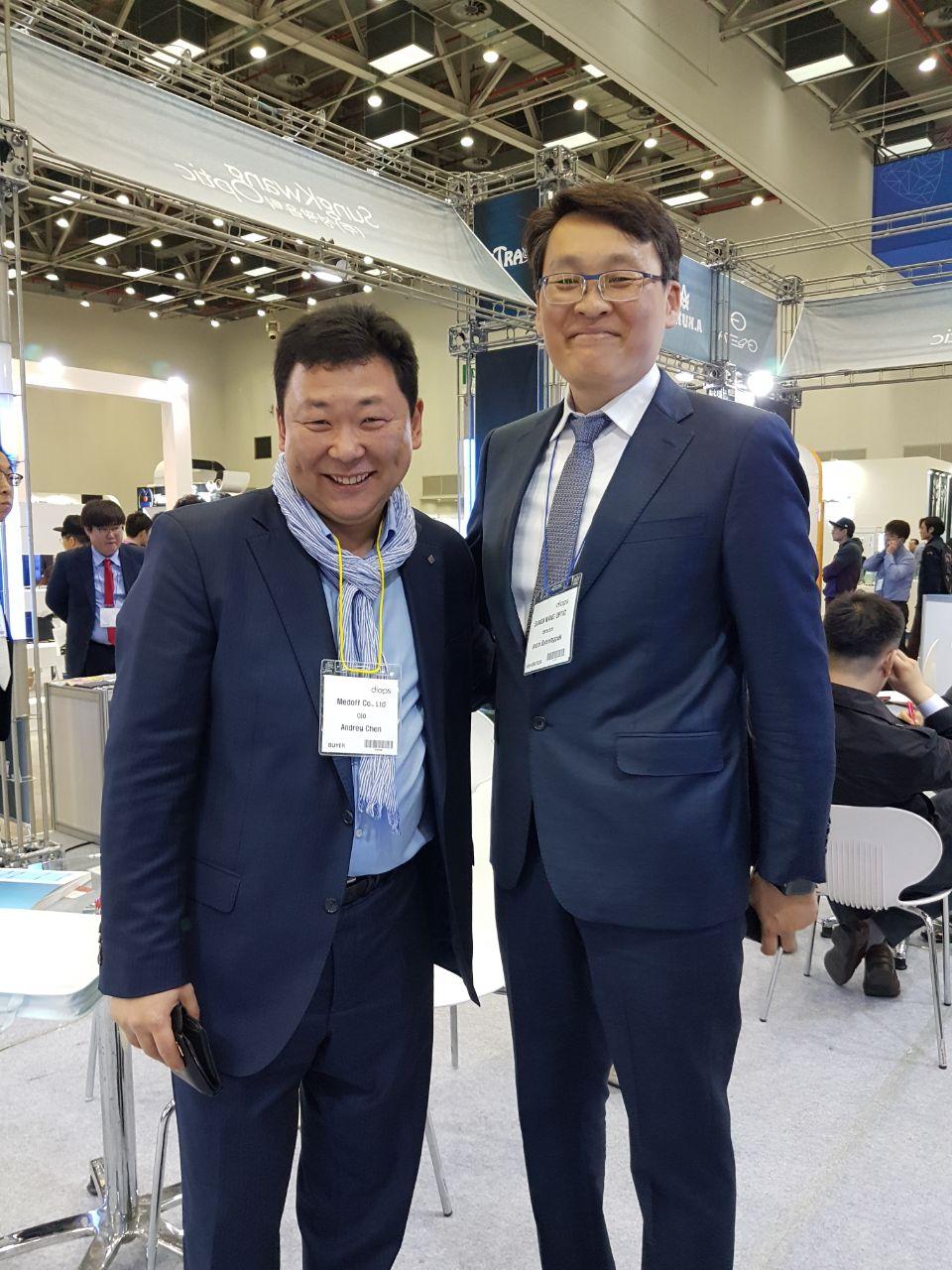 Посещение нового офиса компании HUVITZ KOREA DONGAN-GU - 3