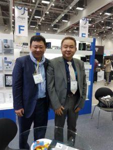 Посещение нового офиса компании HUVITZ KOREA DONGAN-GU - 6