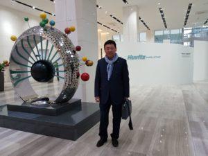 Посещение нового офиса компании HUVITZ KOREA DONGAN-GU - 8