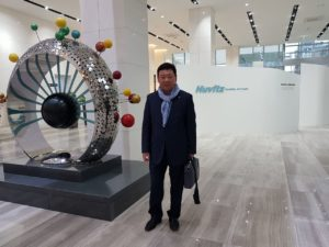 Посещение нового офиса компании HUVITZ KOREA DONGAN-GU - 9