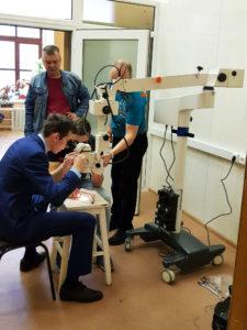 Оснащение лаборатории ТГМУ