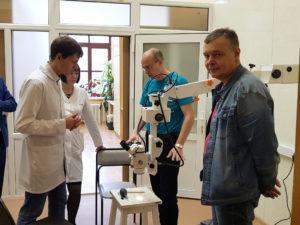 Оснащение лаборатории ТГМУ 2